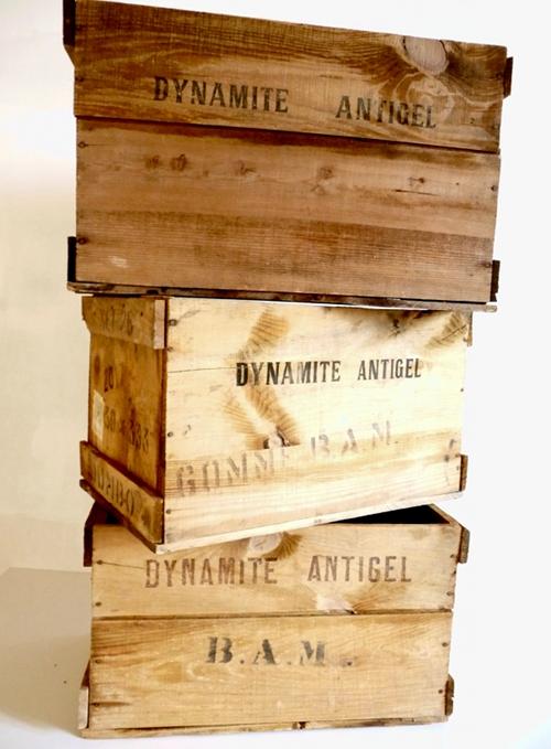 Acheter Bois Bandé - Grosse caisse en bois Bande Transporteuse Caoutchouc