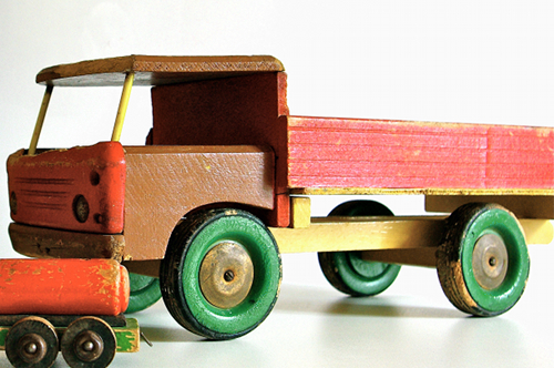 Camion jouet ancien # Jouet Ancien En Bois