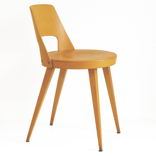 Chaise bistrot baumann ann es 50 60 for Chaise bistrot en bois