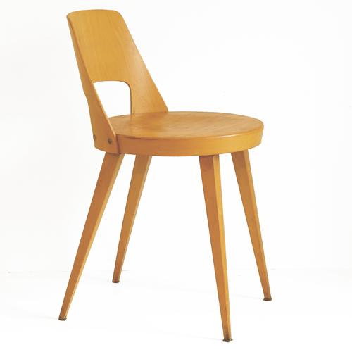 chaise vintage baumann. Black Bedroom Furniture Sets. Home Design Ideas