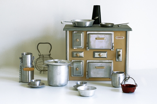 Jouet ancien cuisini re bois - Cuisiniere style ancien ...