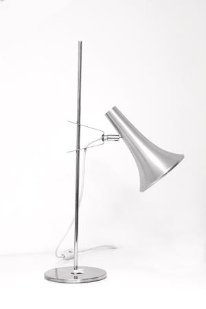lampe vintage inox omi. Black Bedroom Furniture Sets. Home Design Ideas