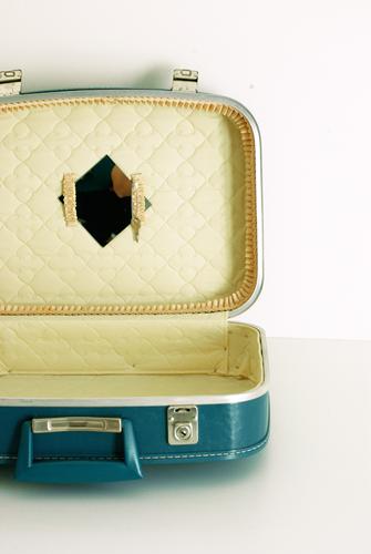 valise vintage dite air france. Black Bedroom Furniture Sets. Home Design Ideas