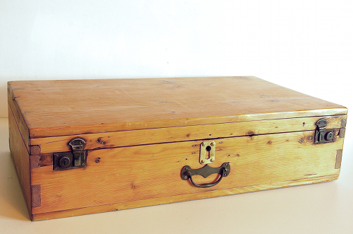 Valise ancienne en bois - Valise en bois ancienne ...